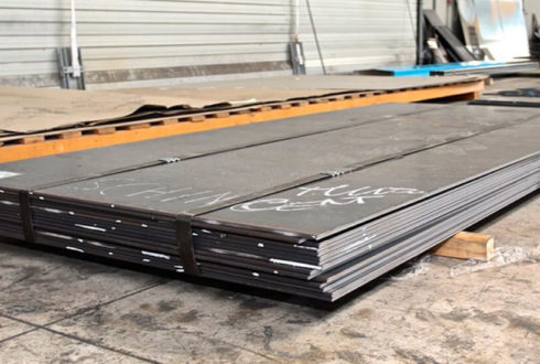 SAILMA 550HI Steel Plates