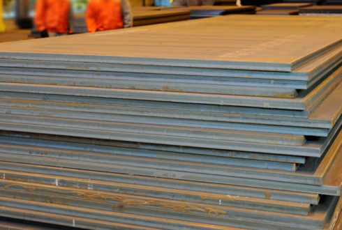 SAILMA 350HI Steel Plates