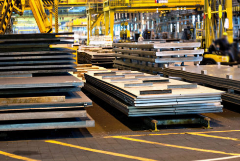 SAILMA 450HI Steel Plates